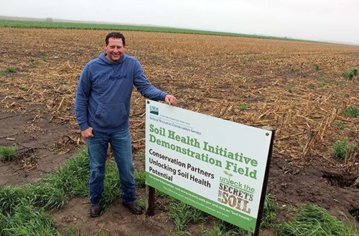 NEBRASKA FARMER BUYS HIS OWN QUARTER TO SHOW BENEFITS OF SOIL HEALTH PRACTICES