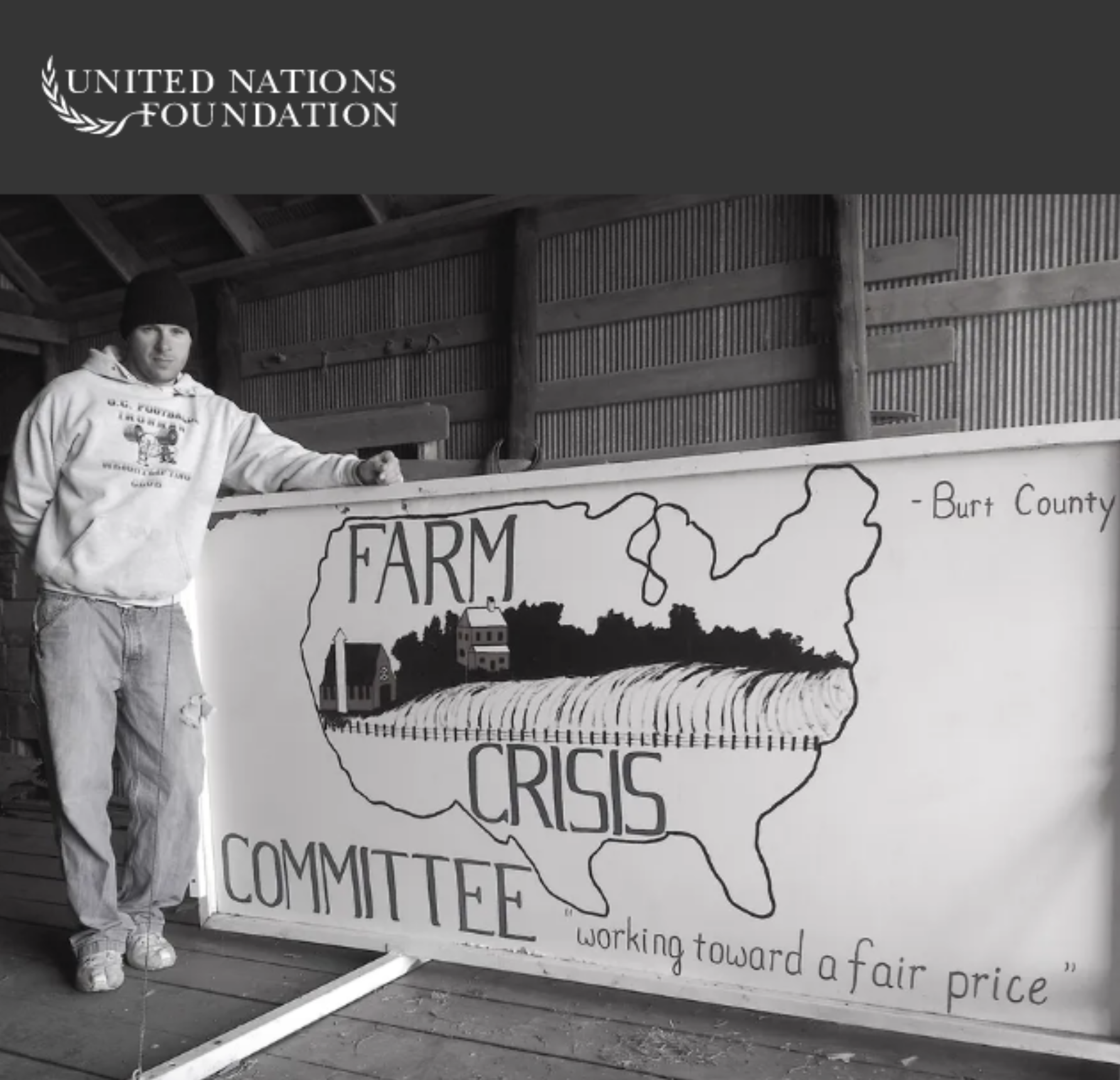 FROM THE GROUND UP: A NEBRASKA FARMER TALKS FOOD AND CLIMATE