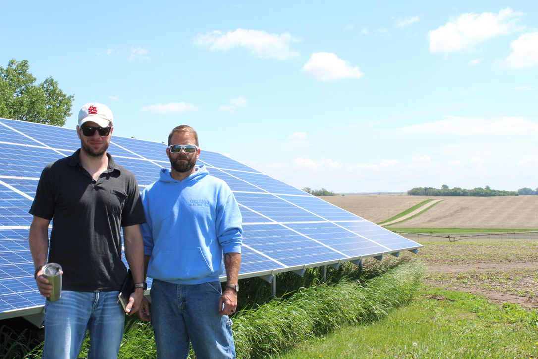 FARMERS WORK TO MITIGATE CLIMATE CHANGE